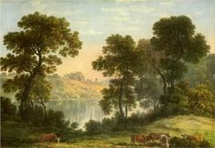 View in North Wales by John Glover