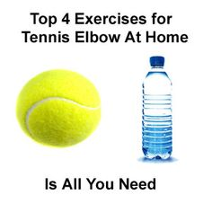 Treat your own tennis elbow. Learn about the top 4 exercises for tennis elbow Tennis Rules, Tennis Tips, Tennis Elbow Exercises, Dumbbell Exercises, Tennis Elbow Relief, Tendinitis Elbow, Psoas Release, Elbow Pain, Tennis Workout