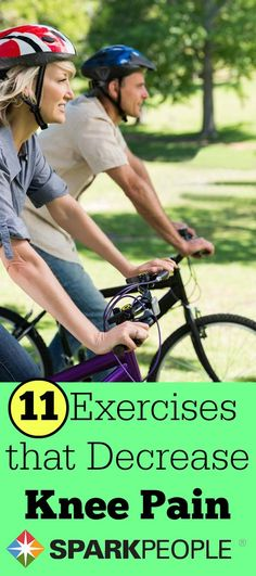 11 Exercises That Help Decrease Knee Pain via @SparkPeople