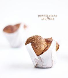 Monkey Bread Muffins. Monkey of to the kitchen!
