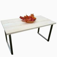 Wide Plank Industrial Table Or Desk by Gabriel Garnto