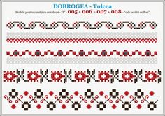 Broderie Cross Stitch Borders, Cross Stitch Designs, Cross Stitching, Cross Stitch Patterns, Folk Embroidery, Cross Stitch Embroidery, Embroidery Patterns, Loom Beading, Beading Patterns