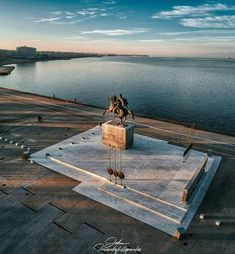 Alexander the Great Thessaloniki seaside Macedonia photo by john triantafillopoulos Alexander The Great Statue, Macedonia Greece, Greece Thessaloniki, Nymph, Seaside, Greek, City, Places, Travel