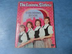 Lennon Sisters Coloring Book by NotOverItVintage on Etsy