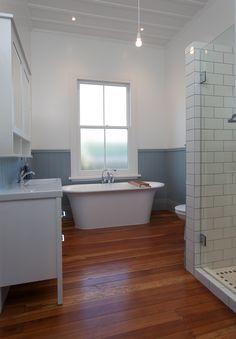 Renovated bathroom to 1900's Villa   Cambridge, New Zealand