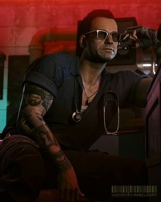 Cyberpunk Character, Cyberpunk 2077, Night City, Shadowrun, Samurai, Character Design, Tired, Video Games, Aesthetics