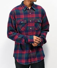 Exemplifying rugged Fall and Winter style, Matix presents their Indio red, blue and green flannel shirt. Crafted with a classic flannel shirt silhouette, this multi-colored garment is made with a traditional fold down collar, button up placket, and dual chest pockets. Green Flannel Shirt, Red Blue Green, Flannels, Winter Style, Life Lessons, Winter Fashion, Presents, Men Casual, Silhouette
