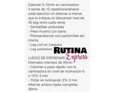 Rutina Express by @Sascha Schneider Schneider Schneider Barboza
