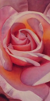 Painting - Beauty Inner of a Rose Rose Watercolors - pink rose painting in watercolor. Doris JoaRose Watercolors - pink rose painting in watercolor. Watercolor Canvas, Watercolor Rose, Watercolour Painting, Watercolours, Painting Canvas, Paintings For Sale, Original Paintings, Rose Paintings, Rose Art