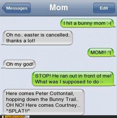 This REALLY cracks me up for some reason. My dad would totallly do this