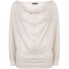 Mint Velvet Powder Long Sleeve Shimmer Tee ($74) ❤ liked on Polyvore featuring tops, t-shirts, light pink, women, mint velvet, shimmer tops, metallic t shirt, linen tee and light pink top