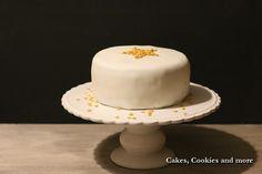 Rezept für Sternentorte - Lebkuchenbiskuit mit Madarinenfüllung