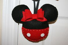 Personalized Minnie Mouse Felt Tooth Fairy by TheClassyCrafter, $20.00 *New Design*