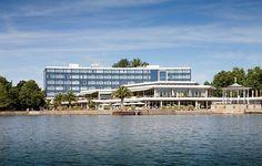 Das Courtyard by Marriott Hannover Maschsee überzeugt Dich mit seiner ruhigen Lage direkt am See