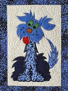 Mixed Mutts Classic Quilt Pattern or Pattern w/ Embroidery USB