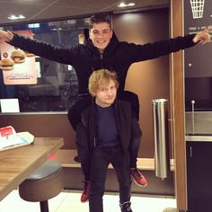 Martin Garrix and Ed Sheeran