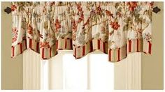 WAVERLY Valances for Windows - Charleston Chirp x Short Curtain Valance Small Window Curtains Bathroom, Living Room and Kitchens, Multicolor *** Read more at the image link. (This is an affiliate link) Small Window Curtains, Short Curtains, Kitchen Curtains, Valance Curtains, Valance Ideas, Valance Patterns, Window Blinds, Curtain Ideas, Curtain Designs
