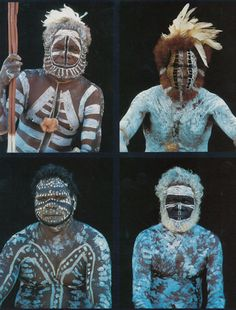 The women of the Tiwi tribe in the South Pacific are married at birth. To Tribesmen, just like these.