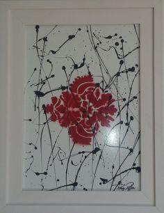 'XV'. Coleção de Gravuras Artísticas. Gravura artística emoldurada com caixa alta e vidro anti-reflexo medindo 52x40x05 cm. Raq Piffer