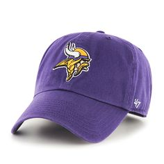 Minnesota Vikings Clean Up Purple 47 Brand Adjustable Hat 5d77afe0635f