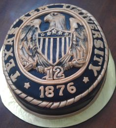 Aggie ring cake  I know I'm graduating from UTH but can I still get one of these? @Jennifer Milsaps L Brehm