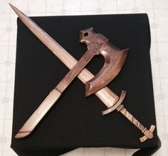 Picture of Skyrim Wood Carved Weapons
