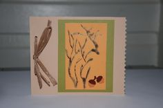 Paper Burned Greeting Card by PapersRocksScissors on Etsy, $3.00