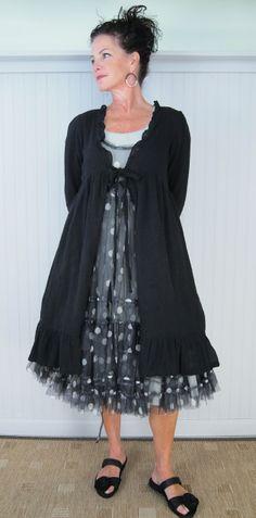 JAYKO PAESTUM JACKET, PADOU DRESS, AND STRESA DRESS WITH PAPUCEI TASHA SANDAL