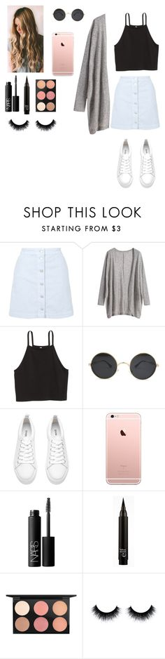 """""""🌷🌷🌷"""" by joycereina ❤ liked on Polyvore featuring Topshop, H&M, NARS Cosmetics and MAC Cosmetics"""