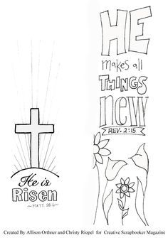 Free bible art journaling template