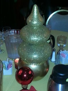 Middle Eastern Christmas Inspired Centerpiece (handmade piece)