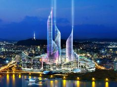 """Gobsmacking; """"Foster and Partners have designed the Yongsan IDB Masterplan, a dream hub to transform the Seoul, Korea from a huge railway goods yard into an extraordinary metropolitan center."""""""