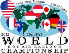2012 20th FAI World Hot Air Balloon Championship is coming to Battle Creek, MI August 2012