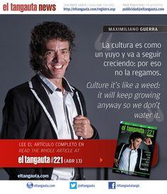 ★ MAXIMILIANO GUERRA ★ El Tangauta • Revista|Magazine #221 (ABR 13) Navegala en línea o descargala gratis | Surf it online or download it for free: eltangauta.com/