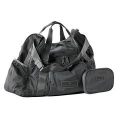 """Best Gym Bags - Adidas by Stella McCartney Women's Fashion Medium Duffel Bag Looks so functional with all of the pockets and compartments, and very """"chic!"""" Check out these cute duffel bags"""