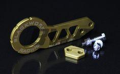 Blackworks Racing Billet REAR Tow Hook - GOLD