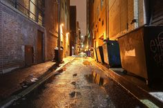 new york city alleyways - Google Search
