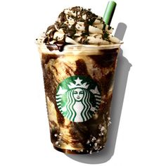 The Most Amazing Starbucks Drinks Around the World ❤ liked on Polyvore featuring food, drinks and filler