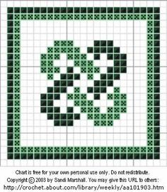 Crochet Afghans Design Printing Page For Celtic Links Color Design For Afghan Square Crochet Squares Afghan, Crochet Quilt, Crochet Cross, Crochet Chart, Crochet Stitches, Crochet Afghans, Free Crochet, Folk Embroidery, Cross Stitch Embroidery