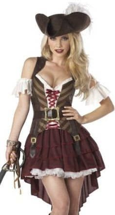 California Costumes Sexy Swashbuckler Set