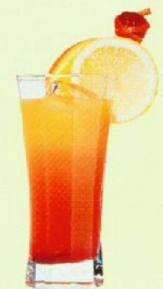 3/4 L de limonade ( 0.75L)     1 verre de grenadine     1 L de jus d'orange 100%     1 L sirop d'ananas