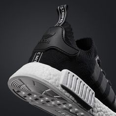 「 The #NMD Runner PK is back in black tomorrow. Purchase directly via the link in our bio March 17th. 」