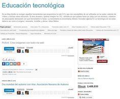 Blog de Celestino Arteta con herramientas y videotutoriales sobre la web 2.0