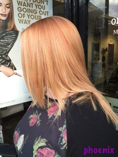 Colour correction today  We finally got a gorgeous rose gold