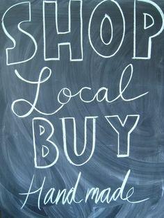 local & handmade