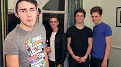 Caspar Lee, Alfie Deyes, Joe Sugg, Jim Chapman and Marcus Butler / Casper, PointlessBlog and ThatcherJoe
