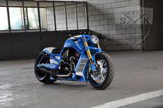 "Harley Davidson V Rod ""Iceman"" by SK-Brush Harley Davidson V Rod, Road King, Kustom, Custom Bikes, Motorcycles, Dark, Custom Motorcycles, Custom Bobber, Motorbikes"