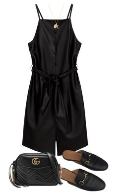 """Untitled #5076"" by theeuropeancloset on Polyvore featuring Gucci and ERTH"