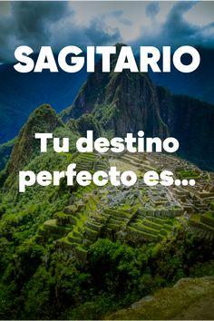 Sagitario, ¿estás pensando en organizar un viaje? ¡Haz clic en la imagen y descubre a dónde debes viajar según tu signo y por qué! #viajeperfecto #sagitario #destinosviajes #peru