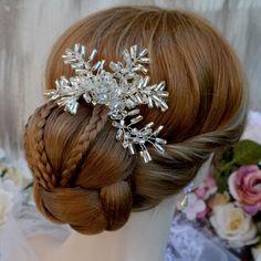 Svatební spona do vlasů La Icedia   Zboží prodejce kultdesign 6569d6f683
